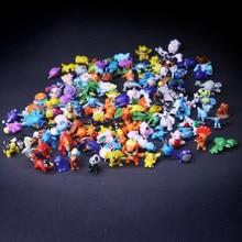 2.5-3cm 24pcs/bag 144 Different Styles Hot Toys Anime Figure pkm Action Figures PVC Doll Small Figure Toys Christmas  action figure pokemon