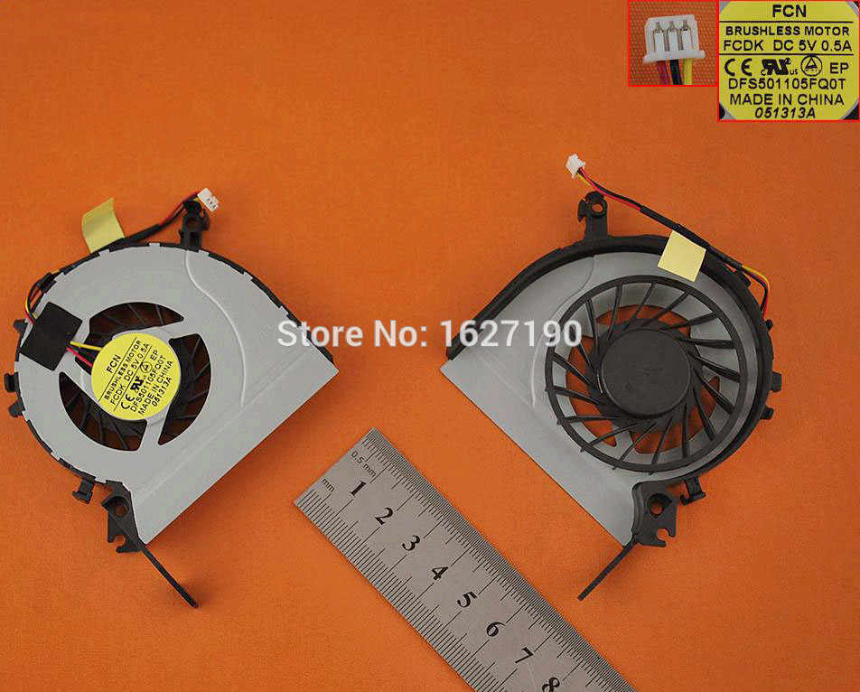 Brand NEW Laptop Cooling Fan for TOSHIBA C40 C40-A DFS501105FQ0T MF60090V1-C630-G99 CPU Cooler/Radiator