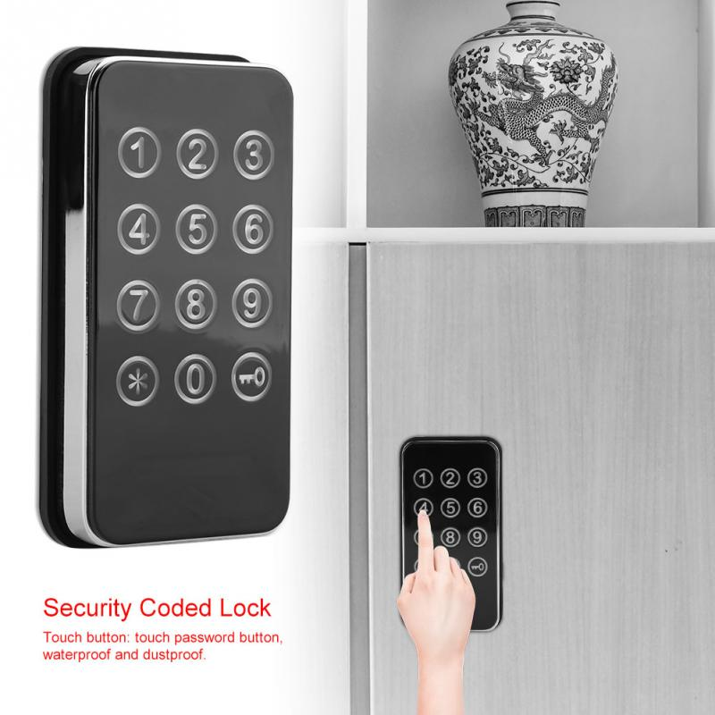 Digit Password Cabinet Lock Combination Cam Code Cabinet Lock Zinc Alloy Spa Password Security Coded Cabinet Lock Locker