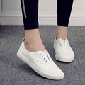 Hot Sale Women's Flats Shoes New 2017 Shallow Mouth Slip on Loafers Women Moccasins Quality White Shoe
