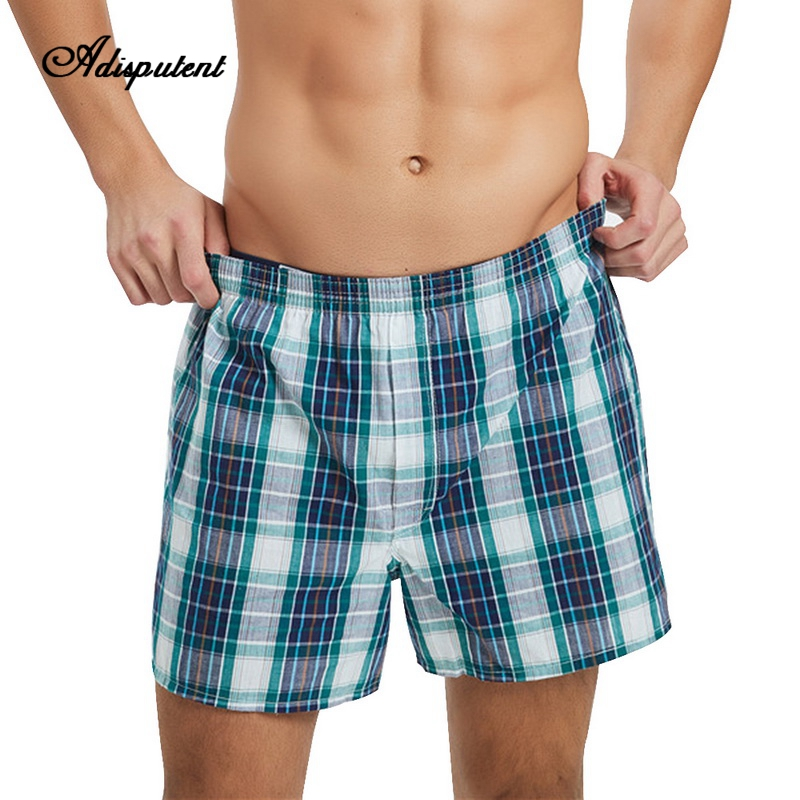 Cotton Shorts Elastic Plus-Size Casual Summer Man Loose with Waistband 6XL Home-Boxers