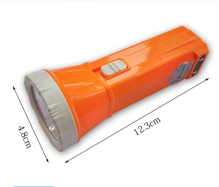 Charging Type Mini Flashlight Hand Holding Type Multifunctional Domestic Strong Light Bedside Illumination