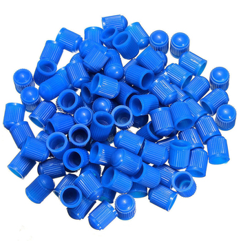 100Pcs/set Universal Car Auto Bicycle Tire Tyre Valve Stem Dust Caps Plastic Cover 1