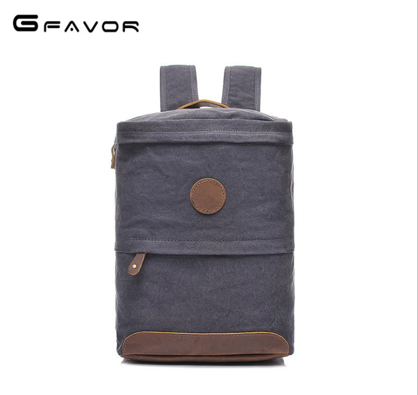 2018 Vintage Men Women Canvas Backpacks School Bags for Teenagers Boys Girls Large Capacity Laptop Backpack Fashion Men Backpack children school bag minecraft cartoon backpack pupils printing school bags hot game backpacks for boys and girls mochila escolar