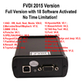 DHL Free Shipping High Quality 2016 FVDI 2015 FVDI 2016 FVDI of 2015 Full Version with 18 software activated