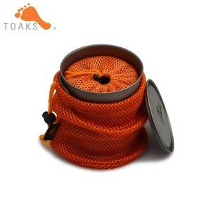 Image 4 - Toaks titânio 750ml pote e copo 450ml conjunto combinado pot 750 & cup 450