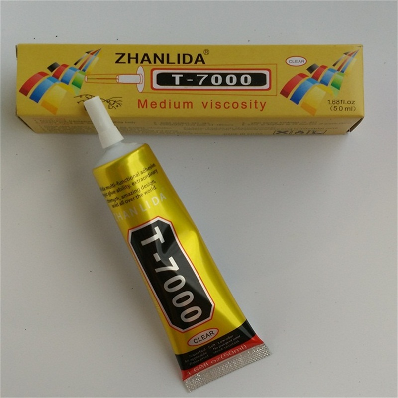 B7000 Upgrade Golden Liquid Rubber 50ml T7000 Glue Wood