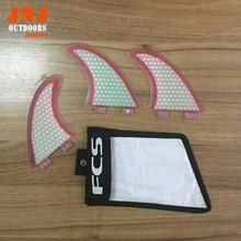 free shipping standard surfboard fins FCS M G5 fins surf table fins with fcs bag