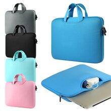 Сумка для ноутбука 11,6 13,3 15,4 15,6 дюймов Сумка для ноутбука 13,3 для MacBook Air Pro 13 Чехол сумка для ноутбука 11,13,15 дюймов защитный чехол
