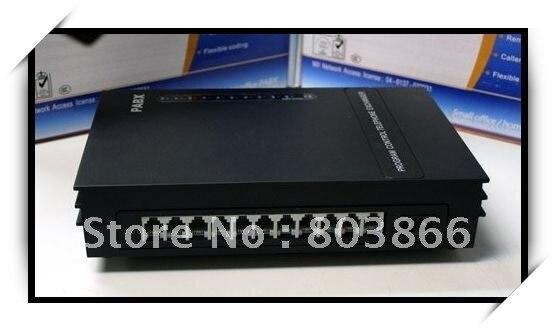 Téléphone exchagne pbx système/mini pabx-3CO lignes x 8 extensions