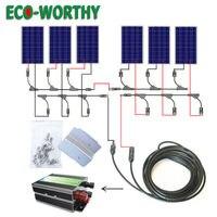 США наличии 600 Вт полный комплект 6 шт. 100 Вт 18 вольт PV Панели Солнечные для дома солнечной системном RV лодка