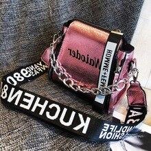 Aisputent PU сумки через плечо популярные женские сумки для леди дизайн изысканный через плечо Праздничная женская сумка на плечо с надписью
