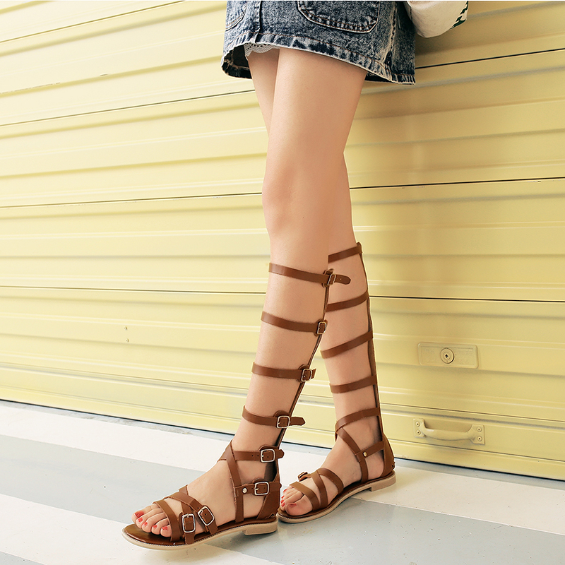 Online Buy Wholesale flat summer boots from China flat summer ...