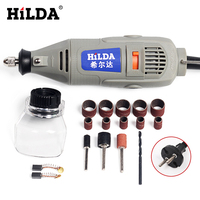 HILDA 150W Mini Drill Dremel Style Electric Tools Variable Speed Electric Dremel Rotary Tool Mini Grinder