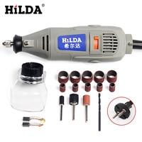 HILDA 150W Mini Drill Dremel Style Electric Tools Variable Speed Electric Dremel Rotary Tool Mini Grinder