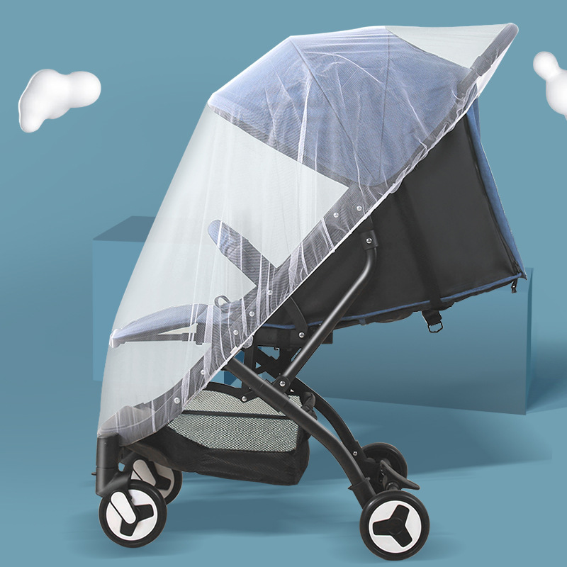 Baby Pram Stroller Buggy Elastic Netting Pushchair Insect Full Cover Mosquito RE