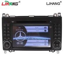 low price 2din Car DVD GPS Head unit for Mercedes Benz B200 A B Class W169 W245 Viano Vito W639 Sprinter W906 3G Bluetooth Radio