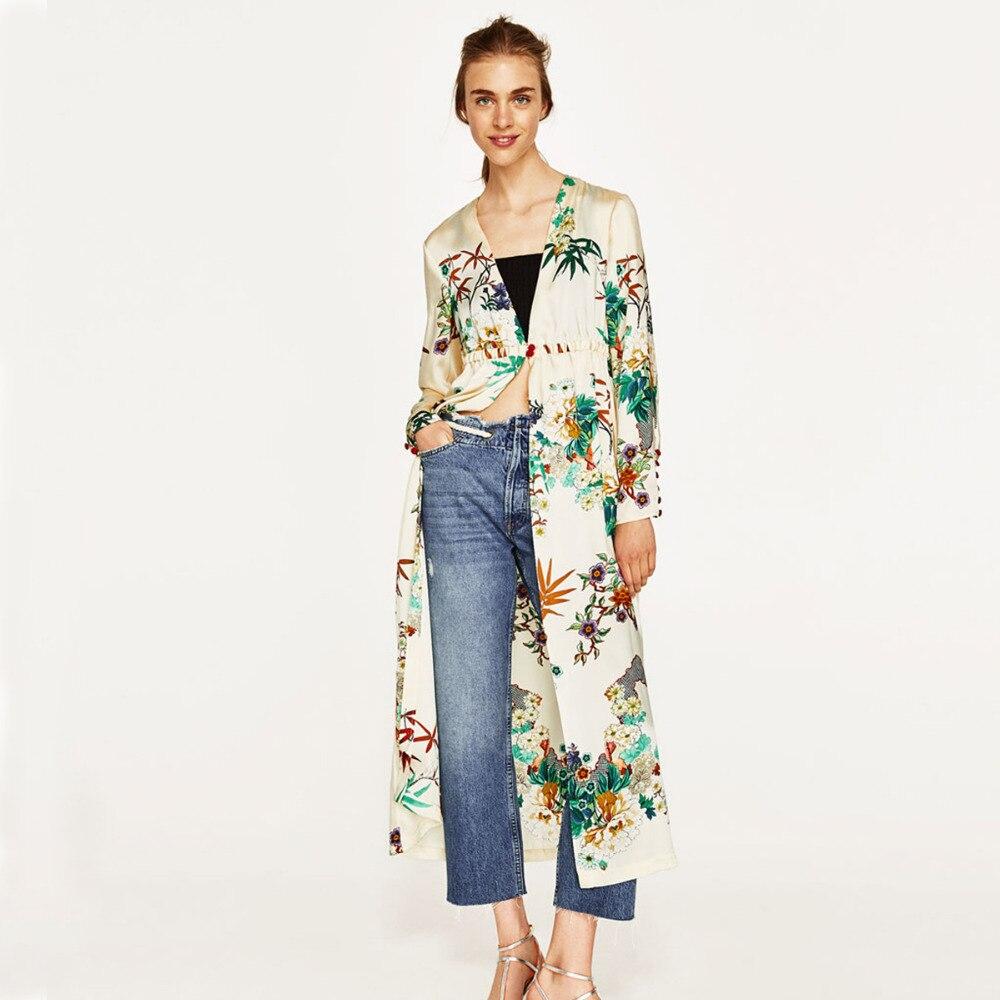 Women Kimono Cardigan Beach Long Cover Up Wear Blouse Summer Bow ...