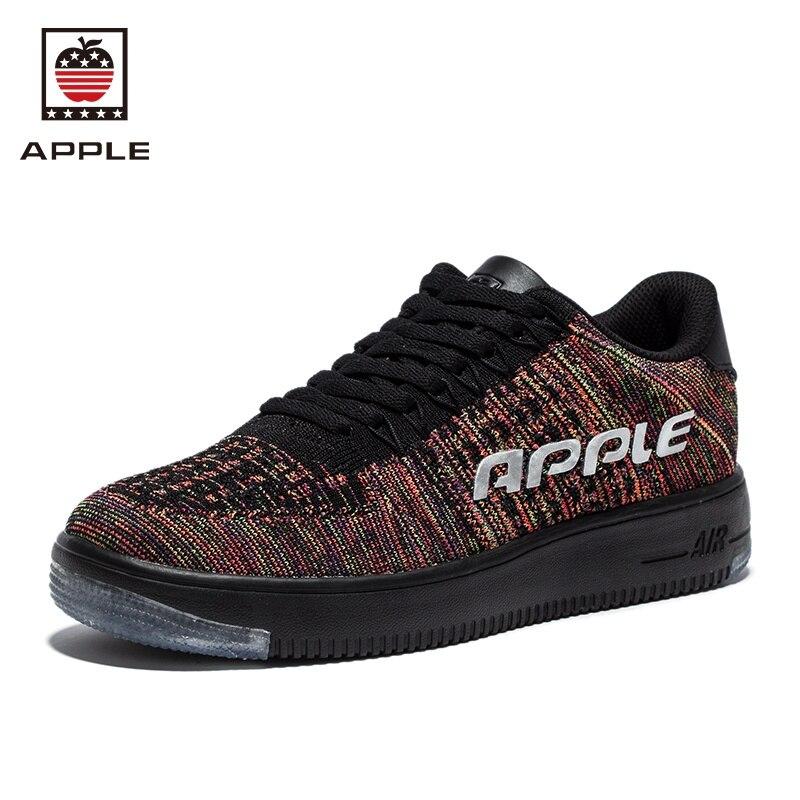 Férfiak 2017 Apple könnyű futócipő lélegző textil sport cipő kényelmes sport futócipő AP-1802