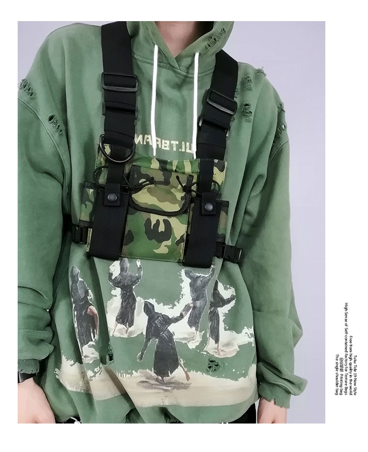 Men's Tactical Shoulder Chest Rig Bag 15