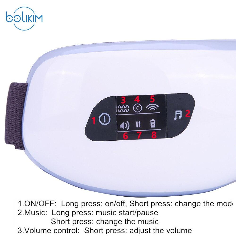 Nouveau Masseur oculaire à pression d'air électrique avec MP3. - Soins de santé - Photo 6
