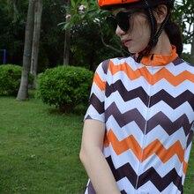 Women 2019 new Camouflag aero cycling Jersey short sleeve road mtb shirt Aerodynamics stripe fabric at and back