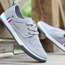 2017 Spring Summer Comfortable Sport Men Walking lightweight Shoes Men's Casual Fashion Patchwork Flat Canvas Loafers Shoes