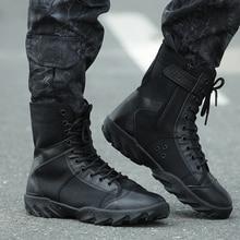 Hiking Shoes Men Outdoor Tracking Boots Military Tactical Combat Botas Non slip Men Mountain Boots Zapatillas Hombre Trekking