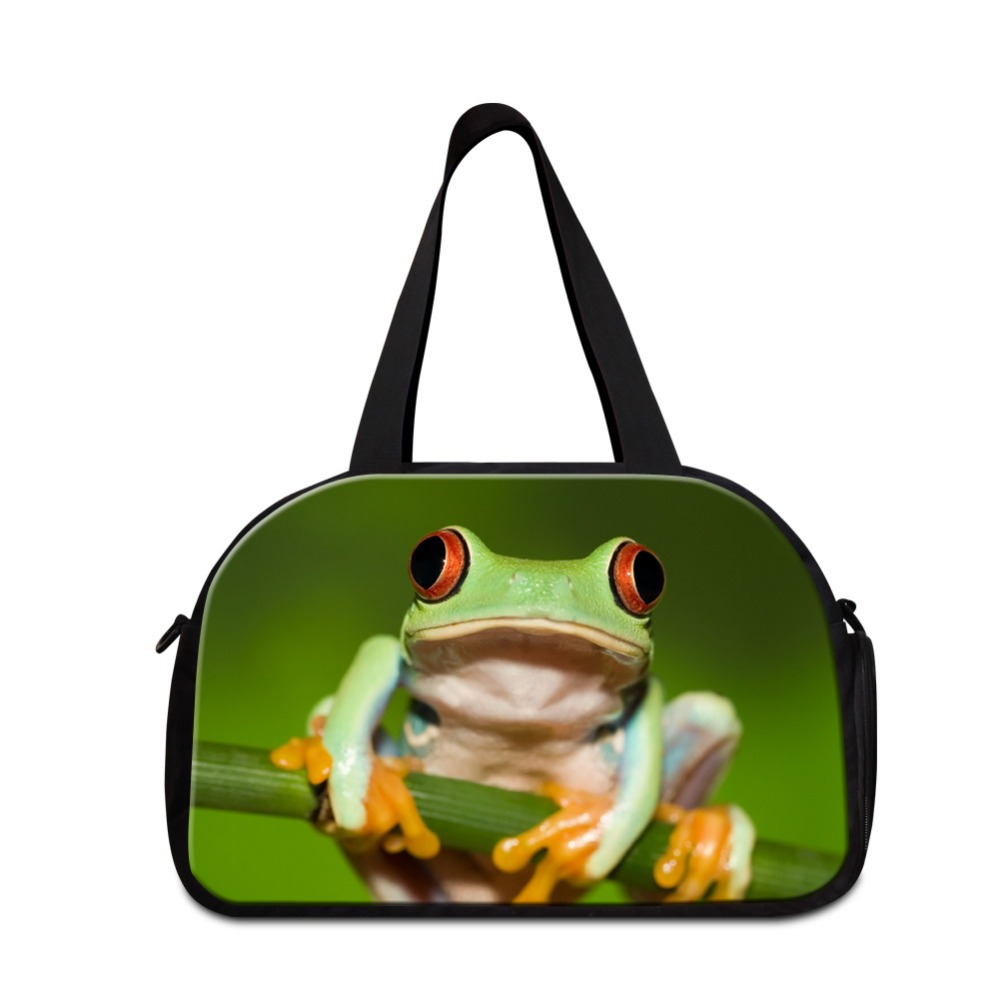 Dispalang Cute Animal sporty bags for ladies Large Capacity Weekend Bag women cool Snake duffle bags men shoulder traveling bag