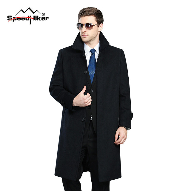 Aliexpress.com : Buy Men Winter Jacket Wool British Style Men ...