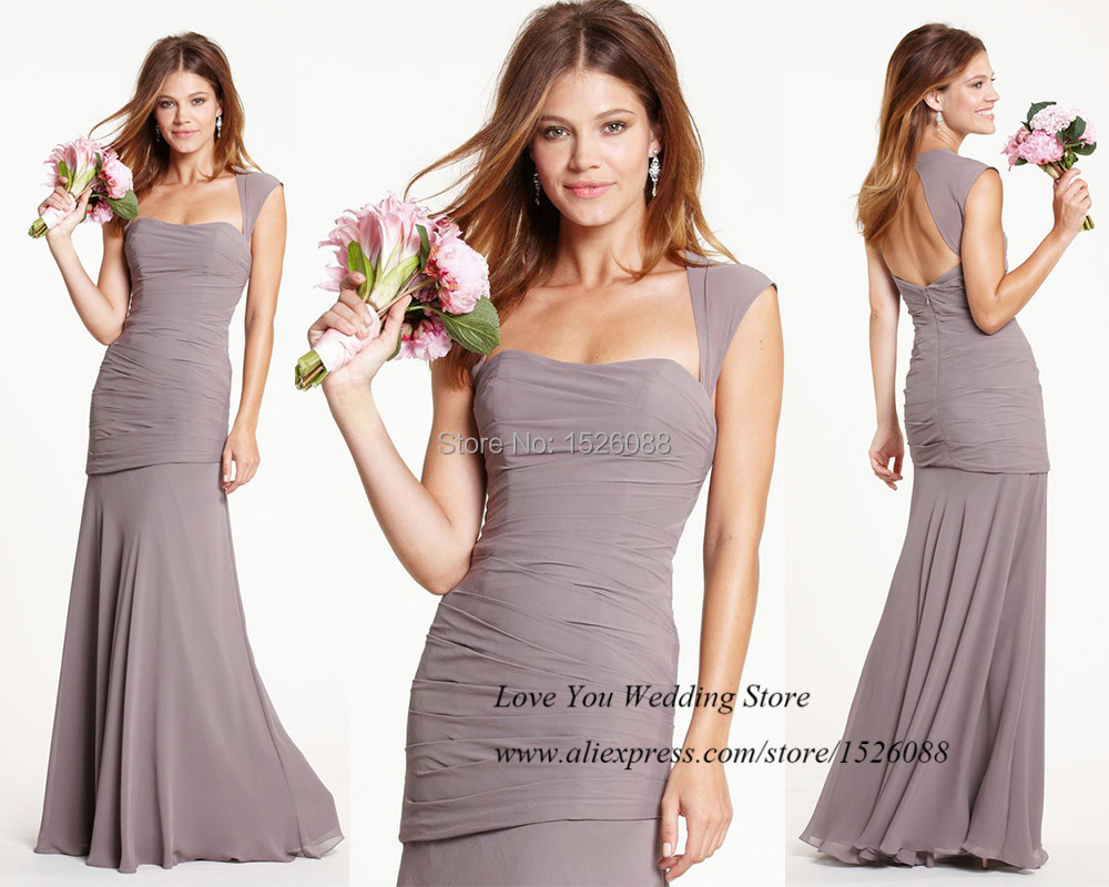 Popular Light Brown Bridesmaid Dresses-Buy Cheap Light Brown ...
