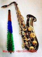 Japan Yanagisawa T 902 model Bb Tenor Saxophone black gold saxophone with Musical Instruments Professional performance