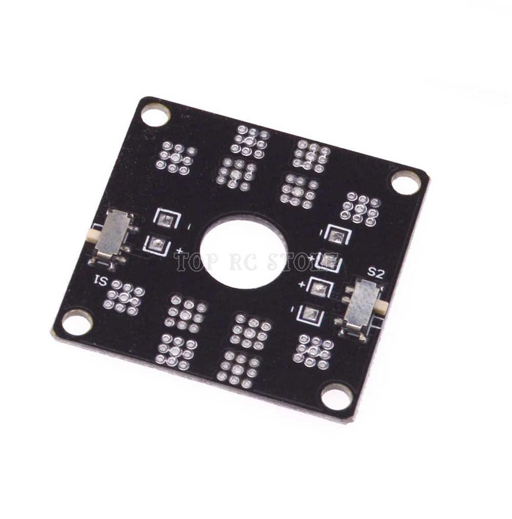 CC3D we wstępnym projekcie budżetu Power ESC połączenia tablica rozdzielcza z wtyczką typu T/XT60 połączenia męskie/LED na QAV250 Quadcopter