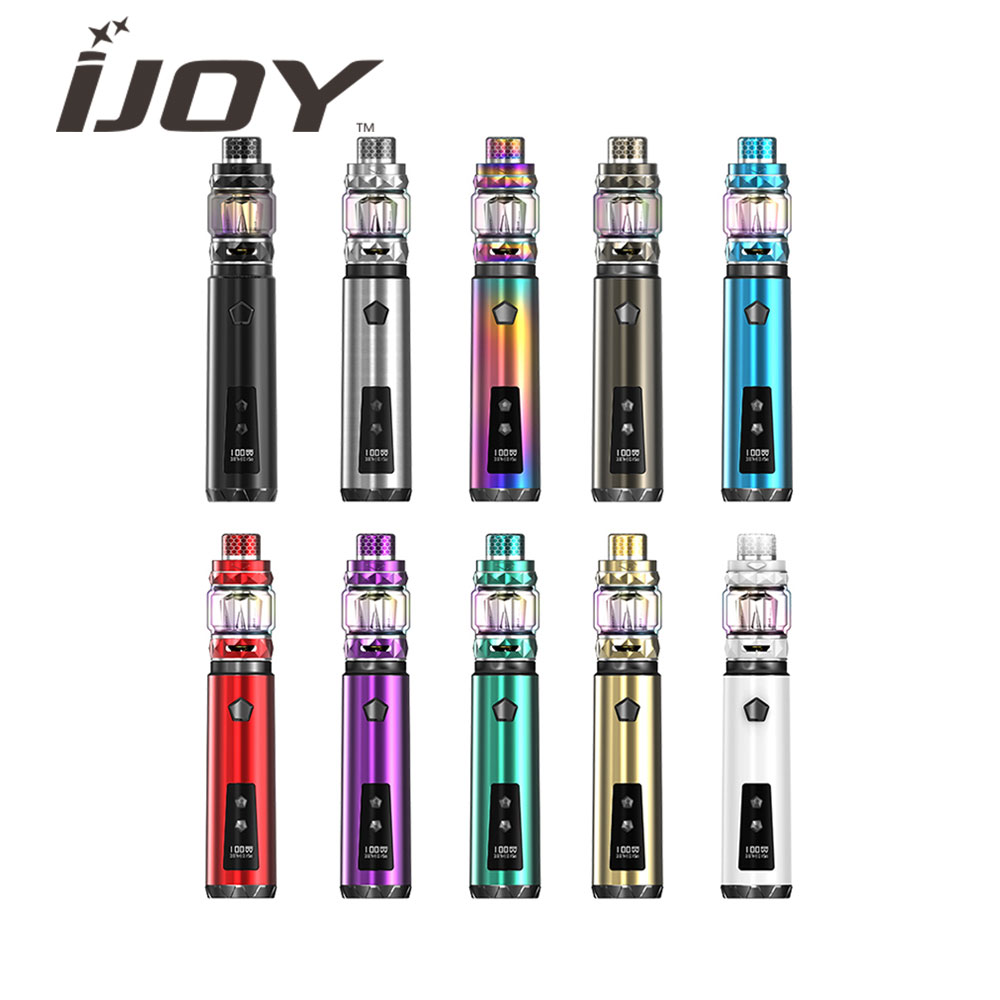 Clearence Original IJOY Saber 100W KIT With 2ml Diamond Subohm Tank Electronic Cigarette Vape Kit VS Drag 2 / Vinci / Caliber