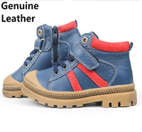 Super Quality 1pair BOY Genuine Leather Shoes Winter Sneakers Sports Fashion New Children Boot