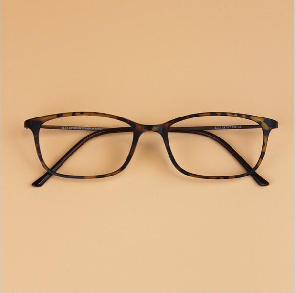 Πολύ λεπτό κορεατικό άνδρες Vintage BLSY τιτανίου βολφραμίου Μικρά τετράγωνη γυαλιά πλαισίου Γυναίκες μυωπία γυαλιά συνταγών