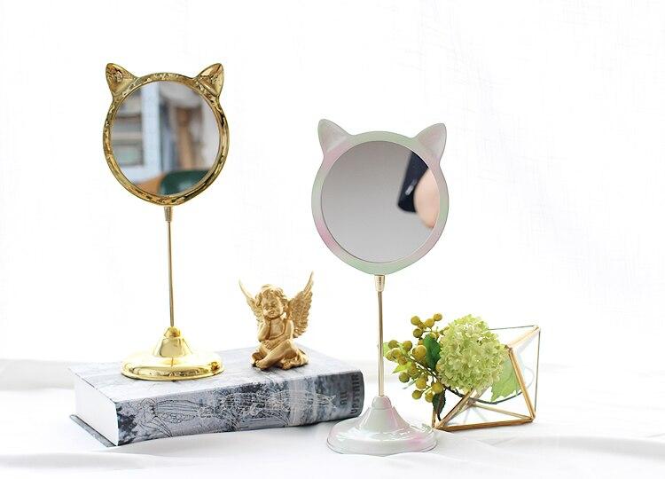 Originalidade Adorável Kitty Bancada Espelho de Vaidade