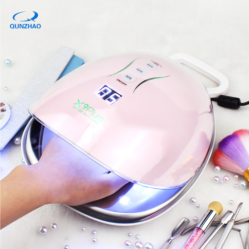 X9plus Lamp For Nails 48w 36 Leds Uv Led Nail Dryer Ice Lamp Manicure Therapy Varnish Machine For Curing all types gel polishX9plus Lamp For Nails 48w 36 Leds Uv Led Nail Dryer Ice Lamp Manicure Therapy Varnish Machine For Curing all types gel polish