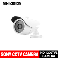 NINIVISION ,Free shipping 2016 NEW 1/3 SONY CCD HD 1200TVL Waterproof Outdoor security camera IR 100 meter CCTV Camera System