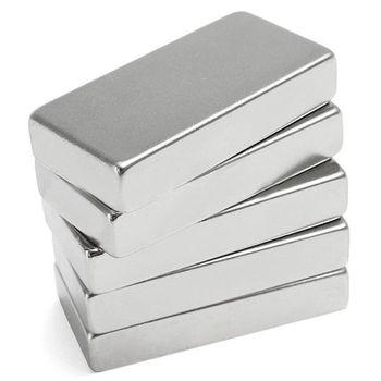 N52 Super Strong Block Cuboid Disc Magnet 50x25x10mm Rare Earth Neodymium Kit 8pcs 30 10 5mm n52 n45 strong rare earth neodymium magnet permanent plating nickel 30x10x5mm