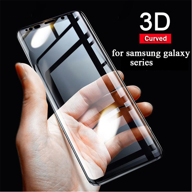 full tempered glass for samsung galaxy s9 screen protector for samsung galaxy note 9 s9 plus s7 edge s9 film case