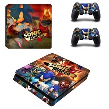 Game Sonic Forces PS4 Slim Skin Sticker