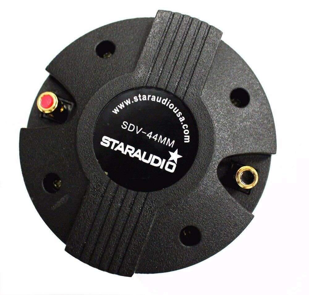 2400w 1.75 44mm titanium compression screw on speaker horn driver tweeter replace party disco church speaker