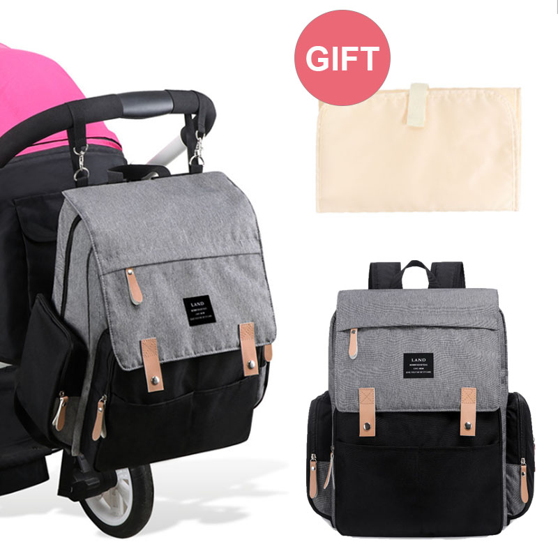 Land Diaper Bag NEW Style Maternity Bag Backpack Baby Stuff Multifunction Baby Bags For Mom