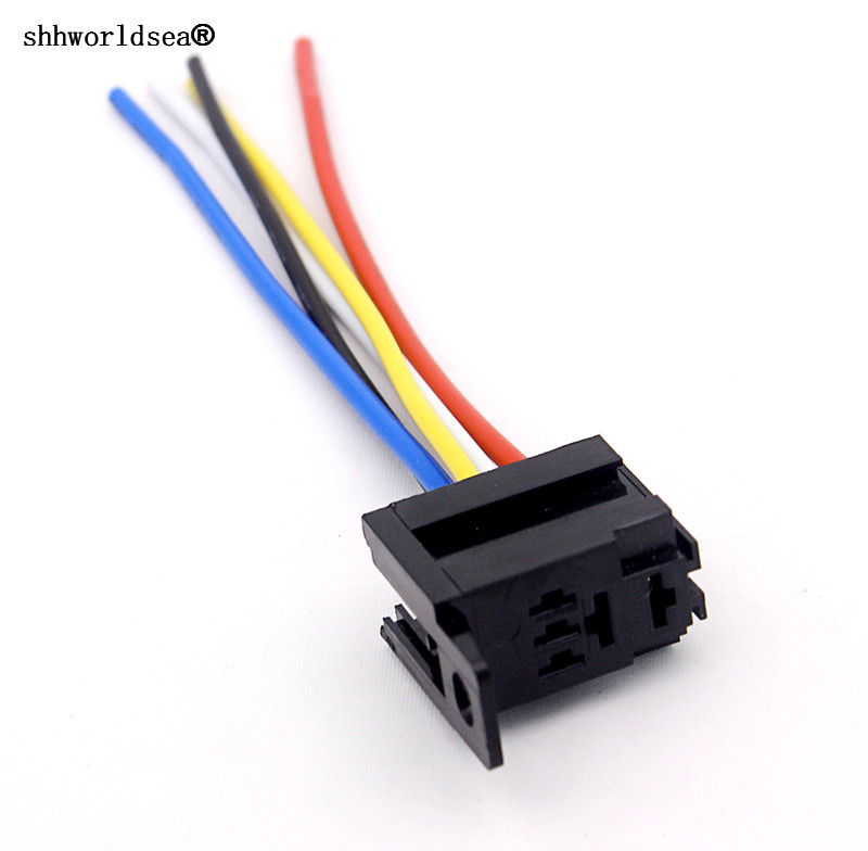 Shhworldsea 12 Volt 4 Pin 5 Pin Automotive Relay With