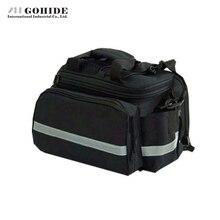 GUH Bicycle Rear Bag Multifunctional Saddle Bags Bicycle Bag Pack Package Post Rain Cover Multi-Function Square Portable Bags