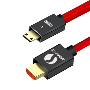 Mini HDMI Cable to High Quality Male 2.0V 4K 3D for Tablet Camcorder MP4 cable