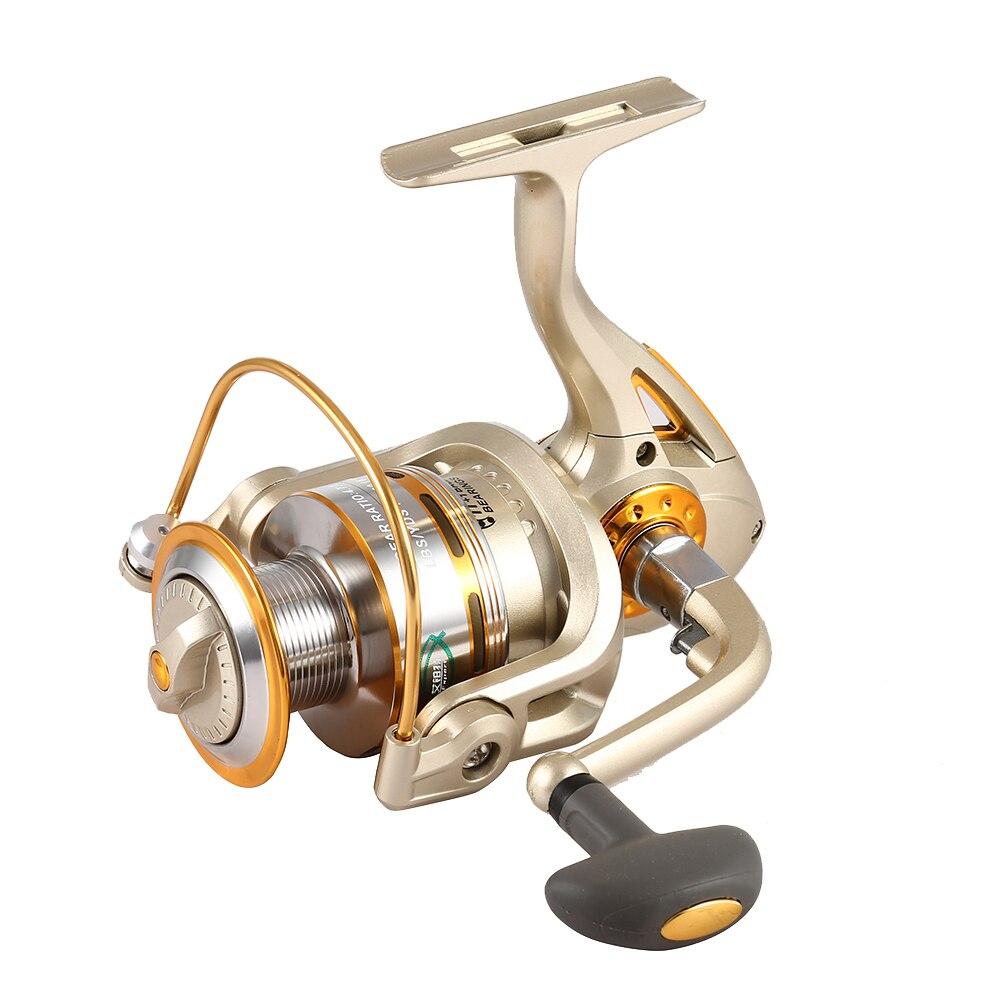 Exbert высокое Скорость г-Передаточное отношение 5.1: 1 Рыбалка Металл Катушка 11 + 1 шар Подшипники прялка