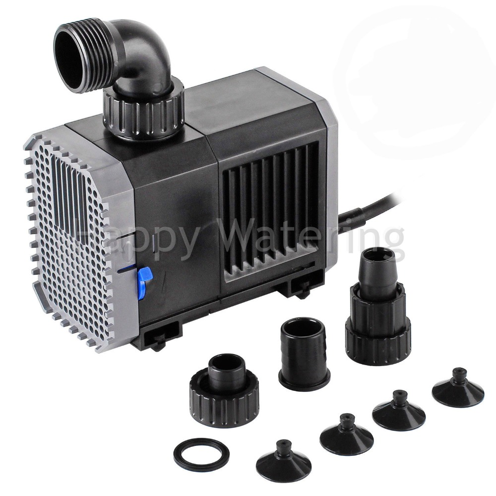 Quiet 7W8W20W25W35W45W55W Mini Water Pump for Fish Tank Pond Fountain Submersible Pump 220V