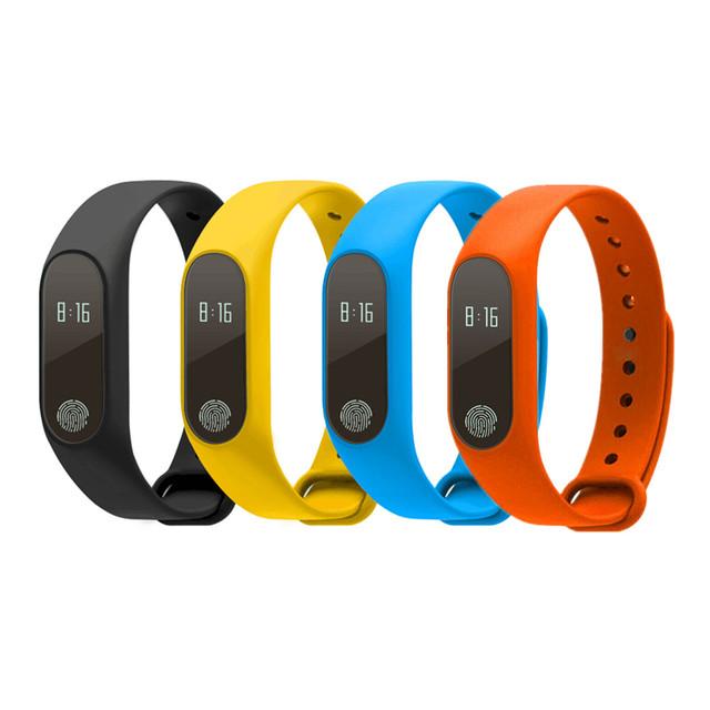 Deporte pulsera de smart watch rastreador de fitness monitor de ritmo cardíaco de bluetooth 4.0 hombres/mujeres reloj de pulsera de banda para android ios